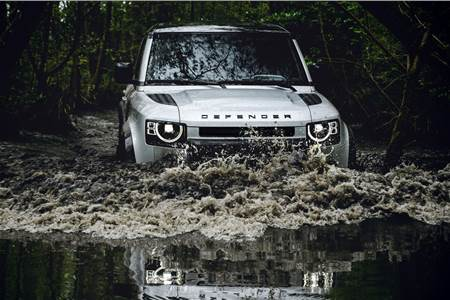 2020 Land Rover Defender image gallery