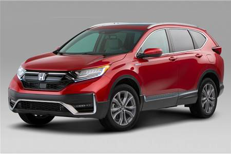 2020 Honda CR-V facelift image gallery