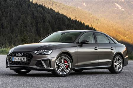 2020 Audi A4 facelift image gallery