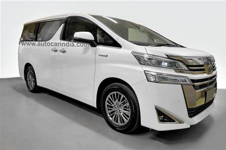 India-spec Toyota Vellfire image gallery