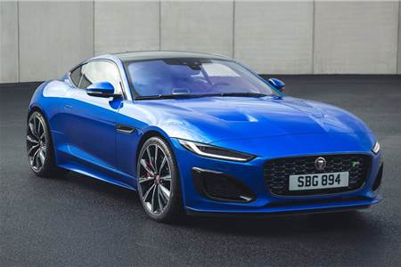 2020 Jaguar F-Type facelift image gallery