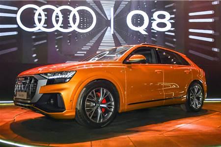 2020 Audi Q8 India image gallery
