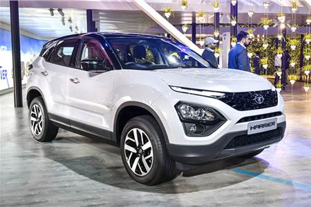 2020 Tata Harrier image gallery