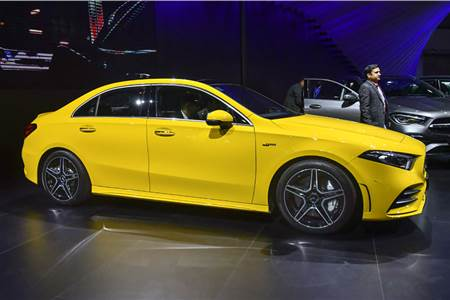 2020 Mercedes-Benz AMG A35 sedan India image gallery