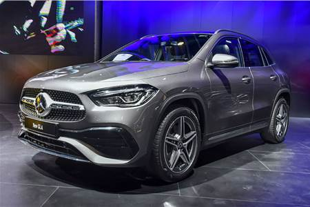 2020 Mercedes-Benz GLA India image gallery