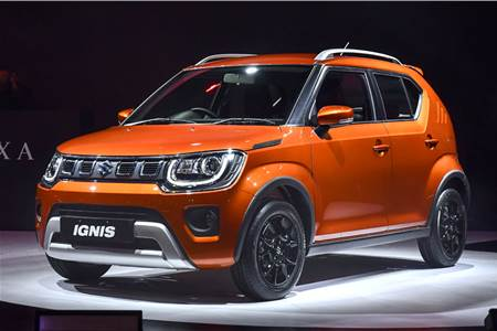 2020 Maruti Suzuki Ignis facelift image gallery
