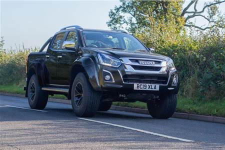 Isuzu D-Max Arctic Trucks AT35 image gallery