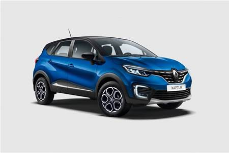 2020 Renault Captur facelift image gallery