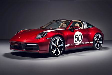 Porsche 911 Targa 4S Heritage Edition image gallery