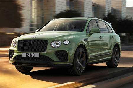 2021 Bentley Bentayga facelift image gallery
