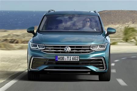 2021 Volkswagen Tiguan facelift image gallery