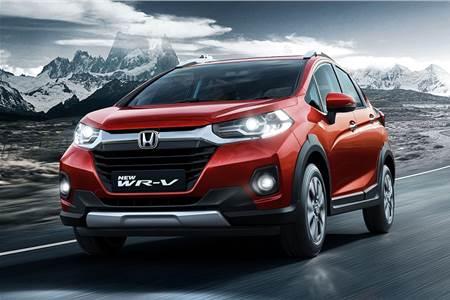 2020 Honda WR-V facelift image gallery