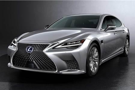 2021 Lexus LS facelift image gallery