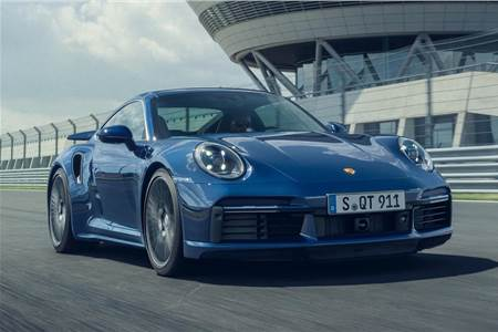 2021 Porsche 911 Turbo image gallery