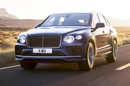 2021 Bentley Bentayga Speed image gallery