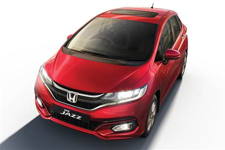 2020 Honda Jazz BS6 facelift image gallery