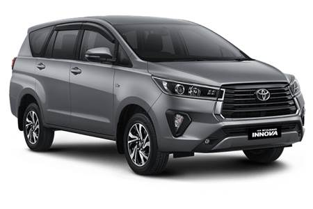 2021 Toyota Innova Crysta facelift image gallery