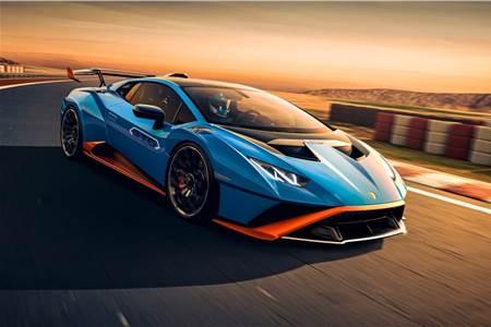 Lamborghini Huracan STO image gallery