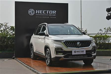 2021 MG Hector facelift image gallery
