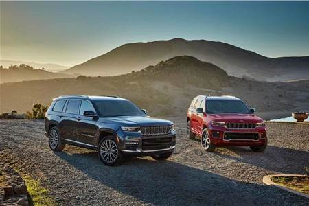 2021 Jeep Grand Cherokee L image gallery