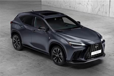 2022 Lexus NX image gallery