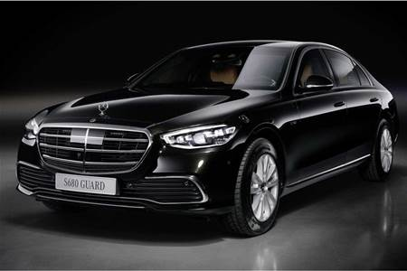 2021 Mercedes-Benz S680 Guard Image Gallery