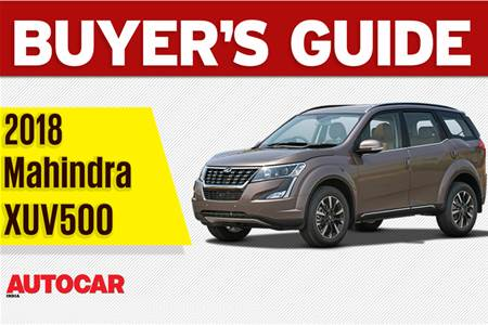 2018 Mahindra XUV500 buyer