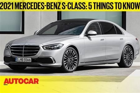 2021 Mercedes-Benz S-class first look video