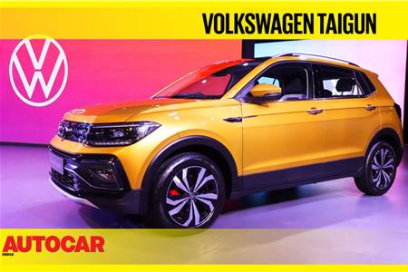 Production-spec Volkswagen Taigun first look video