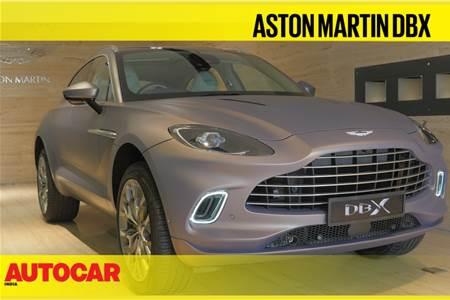 2021 Aston Martin DBX first look video