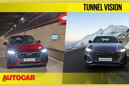 Atal Tunnel vs Rohtang Pass route ft. Audi Q8, RS Q8 feature video