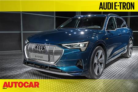 Audi e-tron walkaround video