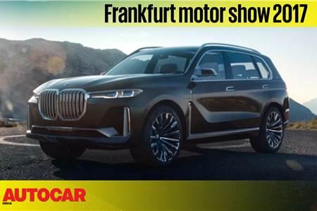 BMW Concept X7 iPerformance walkaround video