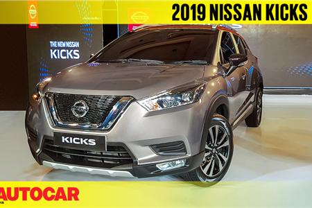 2019 India-spec Nissan Kicks first look video
