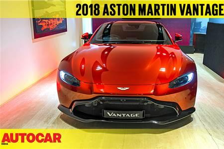 2018 Aston Martin Vantage first look video