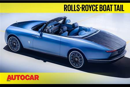 Rolls-Royce Boat Tail first look video
