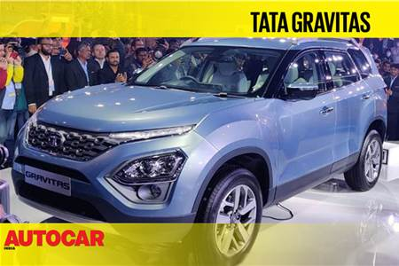 Tata Gravitas first look video