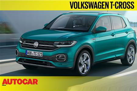 Volkswagen T-Cross first look video