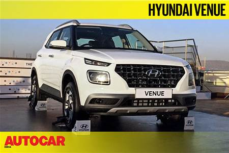 Hyundai Venue first look video