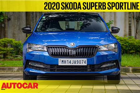 2020 Skoda Superb Sportline first look video