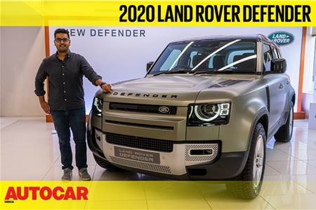 2020 Defender India walkaround video