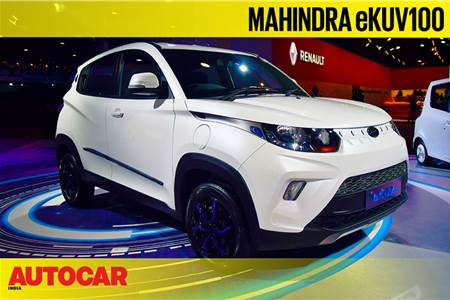 Mahindra eKUV100 first look video at Auto Expo 2020