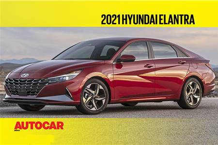 2021 Hyundai Elantra first look video