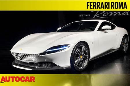 Ferrari Roma first look video