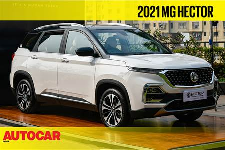 2021 MG Hector facelift, Hector Plus 7-seat first look video