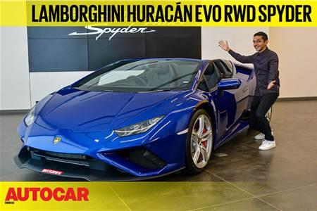 Lamborghini Huracan Evo RWD Spyder first look video