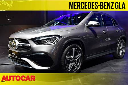 2020 Mercedes-Benz GLA first look video