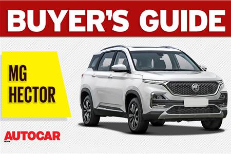 MG Hector buyer