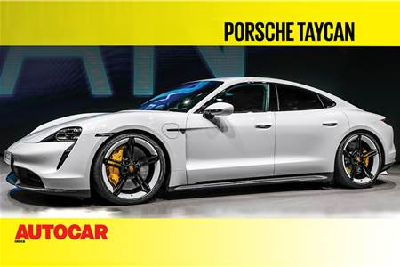2020 Porsche Taycan first look video