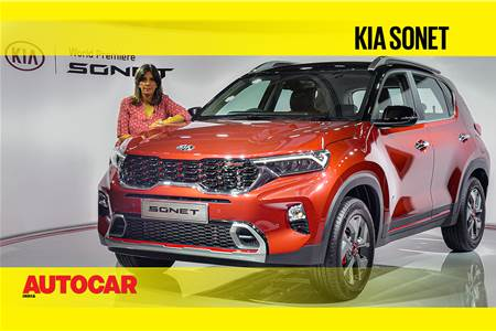 Kia Sonet first look video